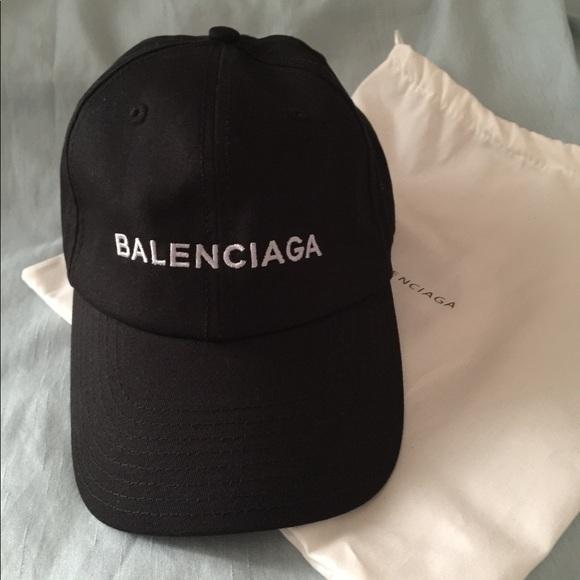 4cee91ede24 Balenciaga Accessories - Balenciaga baseball hat